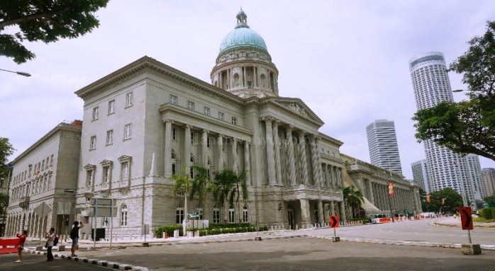 City Hall di Jalan St Andrew