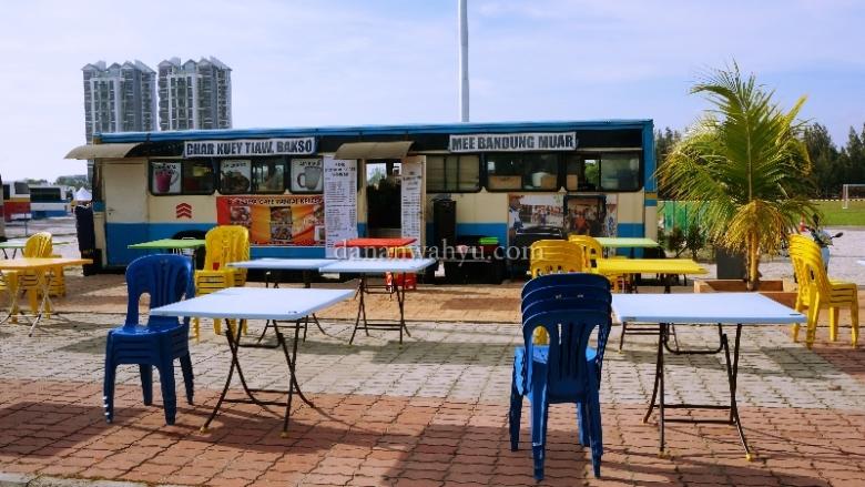 kafe konsep senada di sekitar Bustel