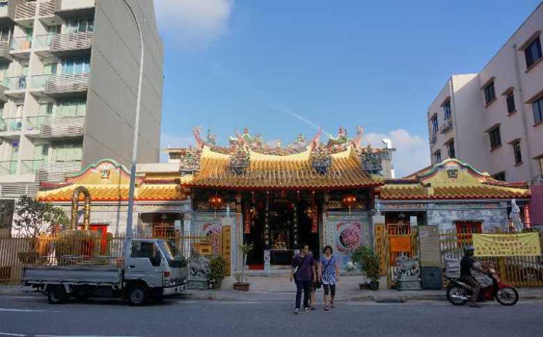 Thian Hock Keng  kelenteng Budha tertua di Singapura berdiri tahun 1820