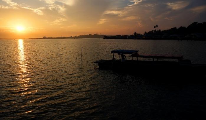 Senja pulau Penyengat - Kepulauan Riau