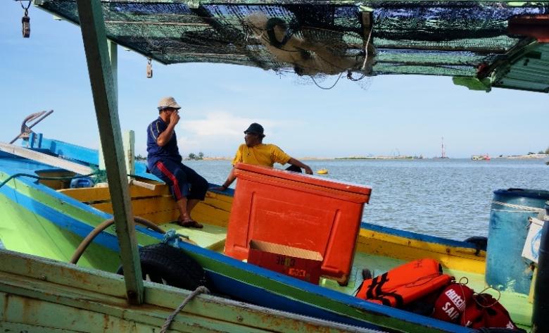 berangakat dari  jeti  Duyong Marina & Resort di sungai Terengganu