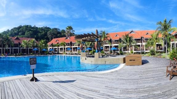kolam renang Resor Laguna Pulau Redang
