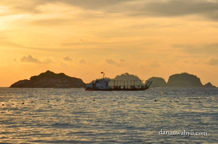 selamat pagi dari Pulau Redang