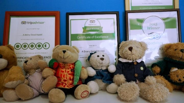 penghargaan A Beary Best Hostel