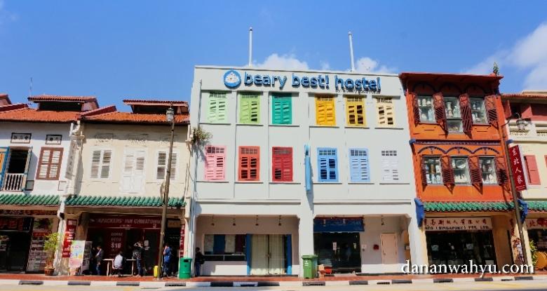 A Beary Best Hostel di Jalan Upper Cross, China Town - Singapura