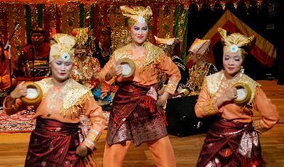 Yuk Kerinci - Tarian Minang yang berakar pada budaya Kerinci, Jambi