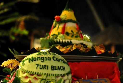 Nasi tumpeng salah satu ikon kuliner nusantara