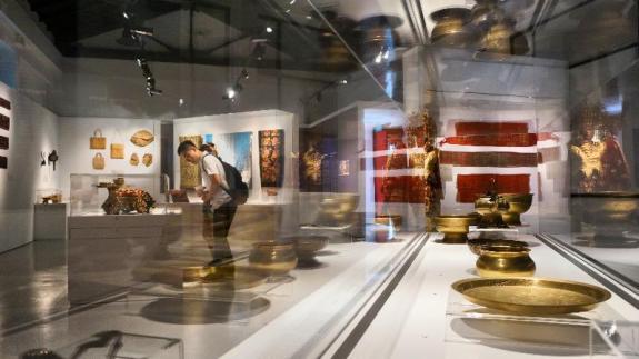 Koleksi ruang pamer Marantau 2015 - Taman Warisan Melayu