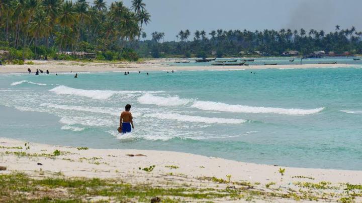 indahnhya pantai Trikora IV, pulau Bintan