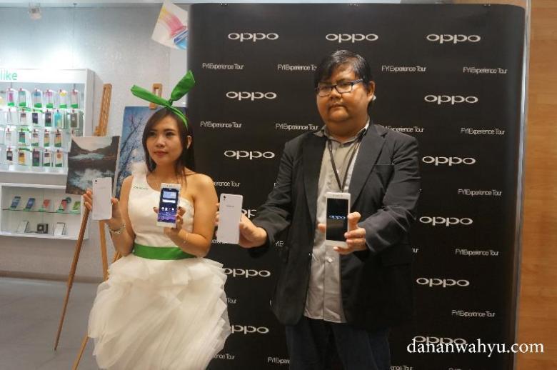Dua Valuably Impressive Phone (VIP) Smartphone OPP0 :Mirror 5 & R7 Lite