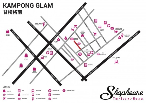 Shophouse Map New