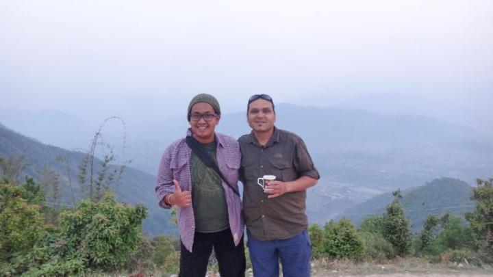 saya dan Hamid