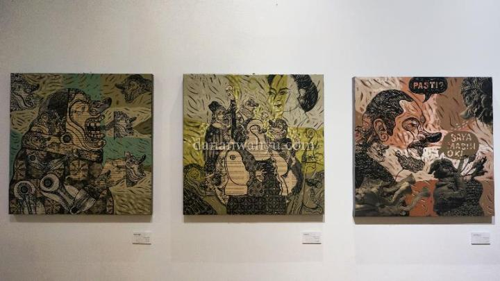 Adeputra Masli - Karikatur dalam warna-warni