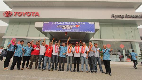 bertemu denggan tim Avanzanation di Pekanbaru