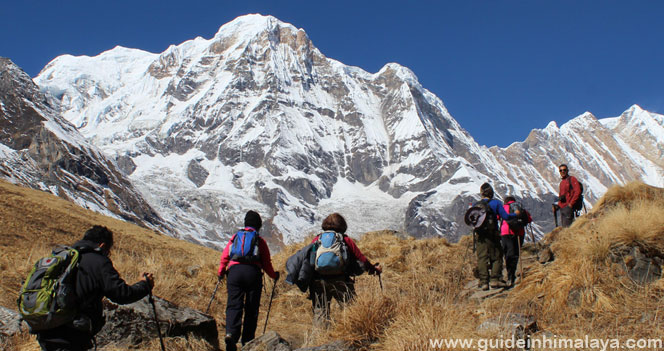 jalur Annapurna, impian para pendaki (sumber: www.guideinhima