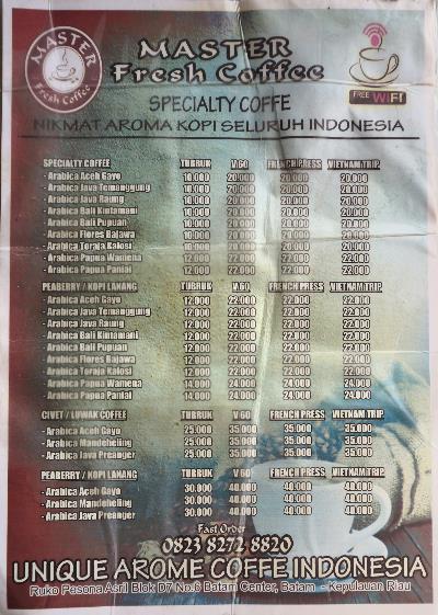 master fresh kopi