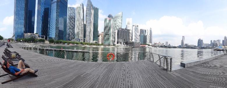 menutup wisata akhir tahun di Singapura