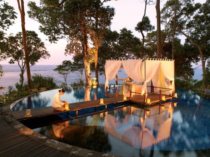 Bagaimana spa cantik di Banyan Tree Bintan yang menyatu dengan alam? (sumber: http://bintan-resorts.com)