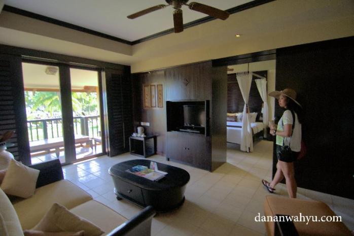 ruang tamu deluxe premier room