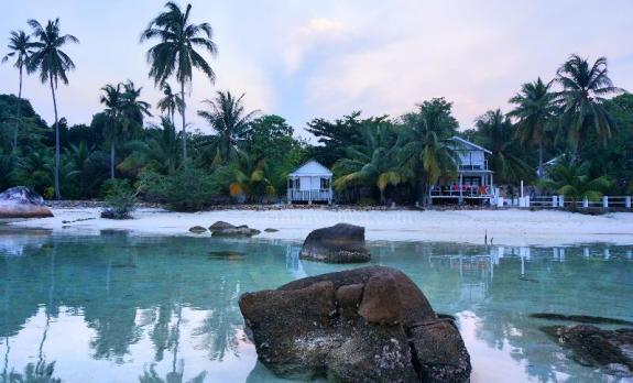 Selamat pagi pulau Nongkat