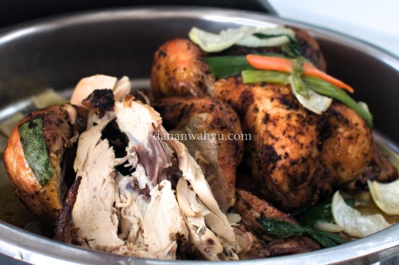 Corn Fed Roast Chicken, tingkat kematangan pas banget