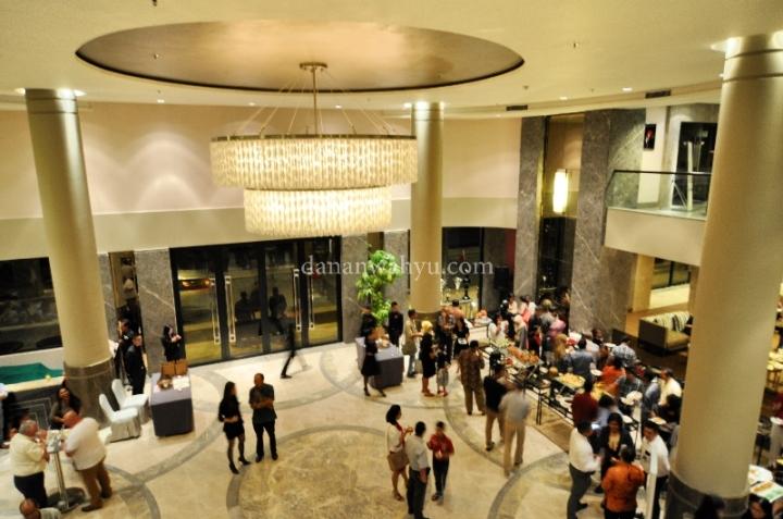 Suasana pesta Rebranding i Grand Hotel