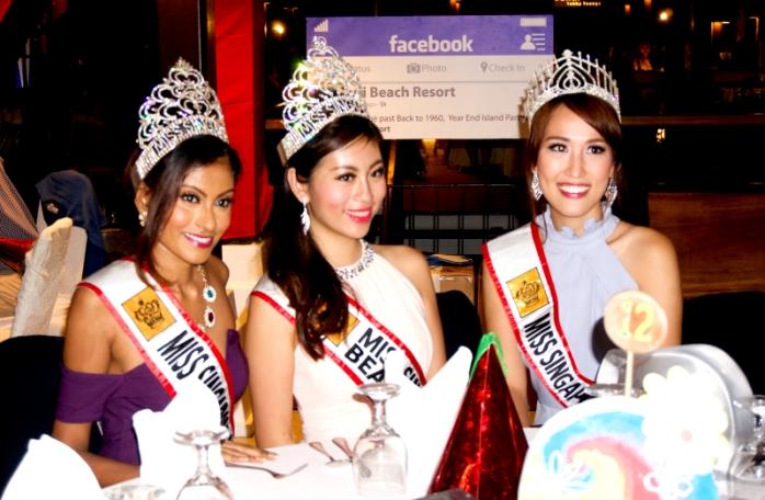 Tiga Miss Singapura bersiap memandu acara