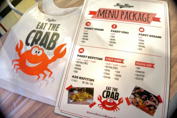 Menu seafood baru Kopi Raya bikin iman dan imin nggak kuat