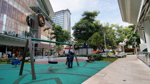 City Squara Mall lebih dari dari Bugis Center