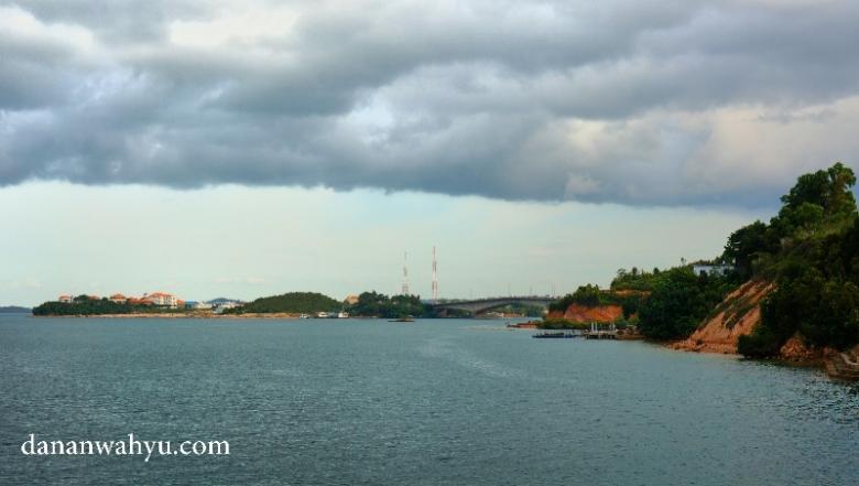 pemandangan jembatan II Barelang