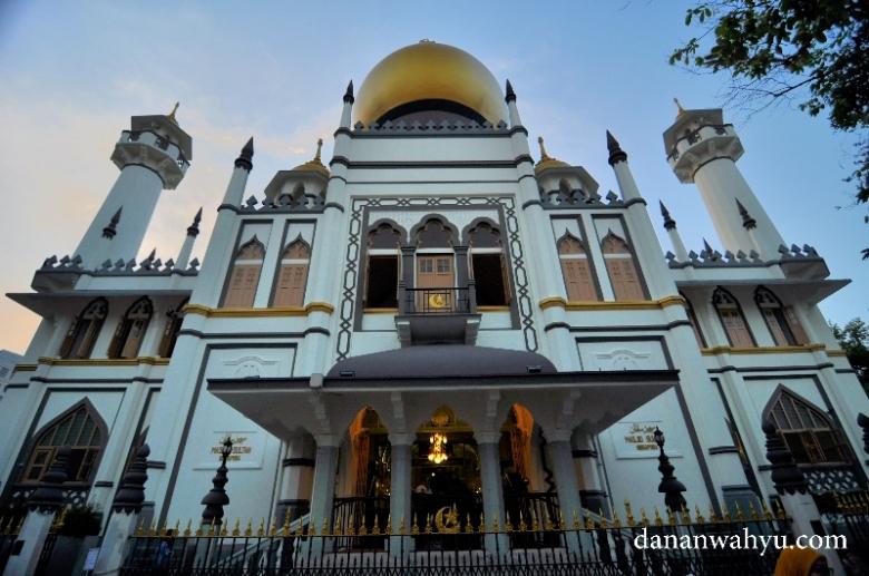 Masjid Sultan Kampung Glam , Bugis - Singapura