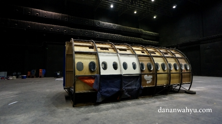ternyata ini kabin pesawat :D