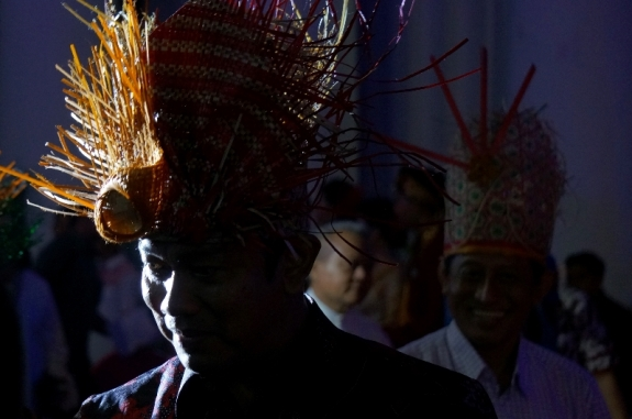 Kedatangan Bapak Hendrar Prihadi di Semarang Night Carnival 2016
