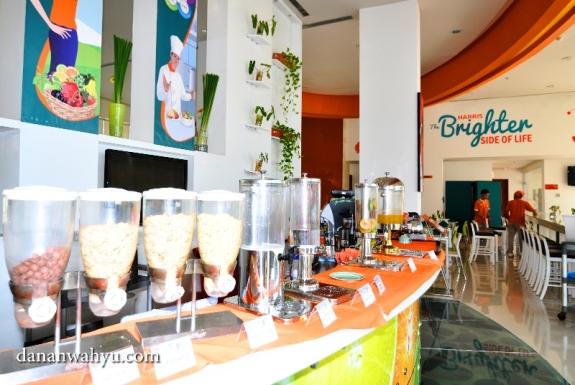 pilihan makanan sehat ala Harris Batam Center