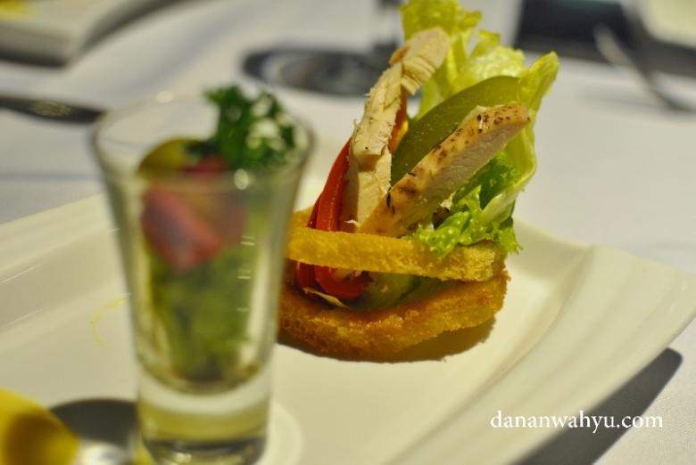 Carabian Chicken Salad , sajian pembuka penuh kejutan