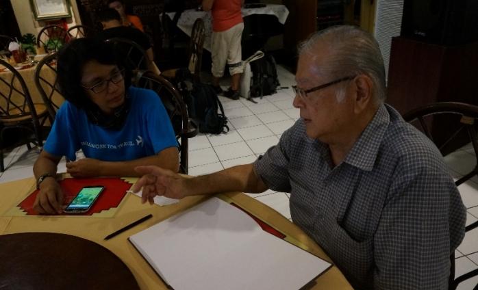 Tukang kuburan bertemu Sang Petutur Kota Semarang