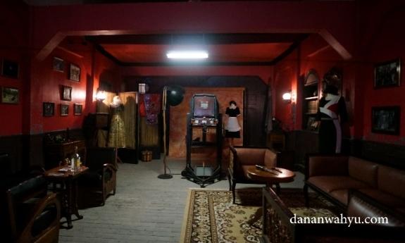 Museum mini yang memuat set film yang pernah diproduksi