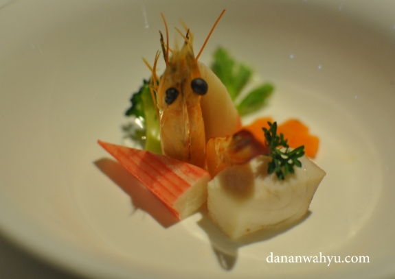 Manhattan Seafood Chowder - sebelum soup krim dituangkan