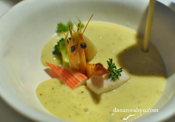 Manhattan Seafood Chowder - tidak bisa move on dari lezatntya