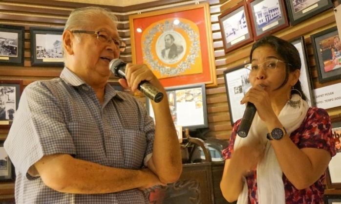 bercengkrama dan berkisah kepada Blogger Nusantara