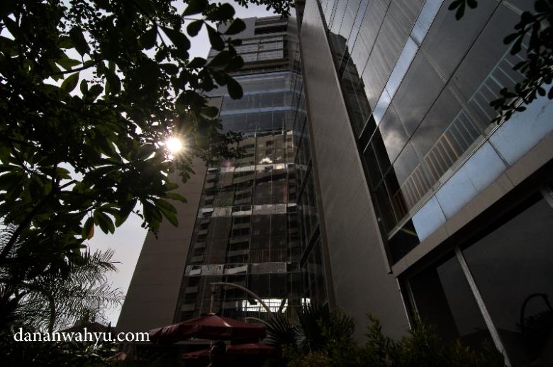 pagi di MG Setos Hotel Semarang