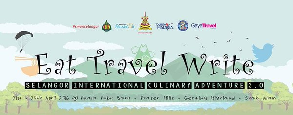 Tulisan ini merupakan famtrip Eat Travel Write - Selangor International Culinary Adventure 3.0 , 22-24 April 2015. Undangan Tourism Selangor and Gaya Travel Magazine.