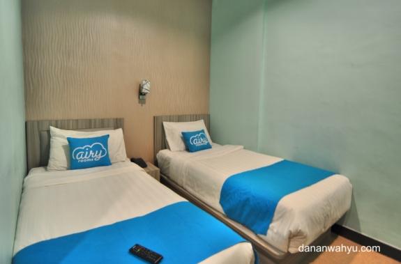 semua tempat tidur di Airyrooms bernuansa biru