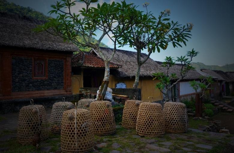 rumah tradisional beratap daun sirap