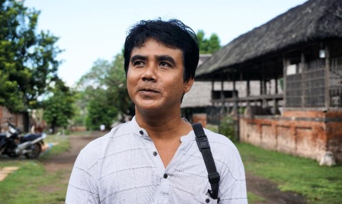 Ketut Sudiasdika , ketua adat desa Tenganan