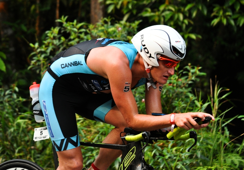 bersepeda sejauh 90 km - Ironman 70.3 Bintan 2016