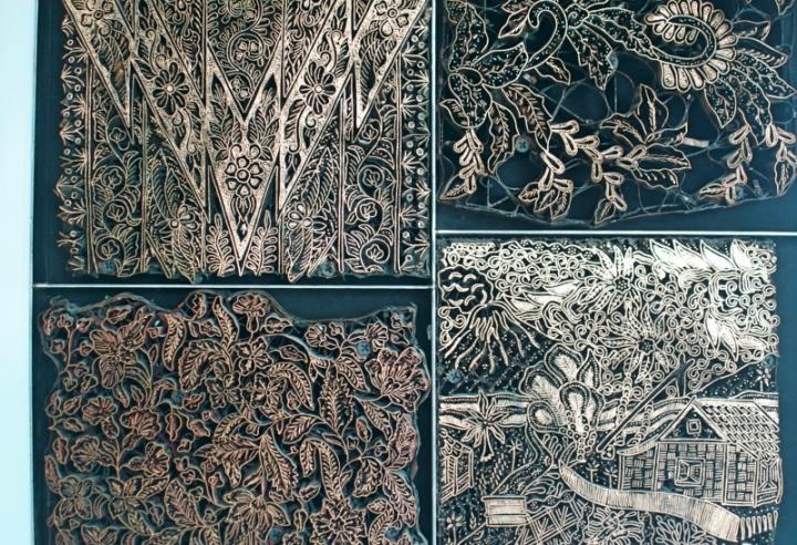 cetakan tembaga batik