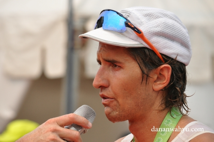 Matt Burton menempati juara kedua Ironman 70.3 Bintan 2016