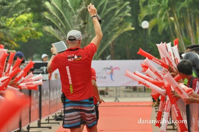 MC menanti siapa jawara Ironman 70.3 Bintan tahun ?
