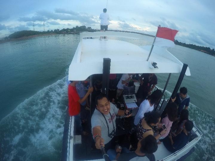 party kece ala Barelang Amazing Trip